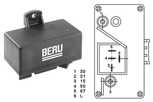 Preisvergleich Produktbild Beru AG 0201010066 Steuergerät,  Glühzeit