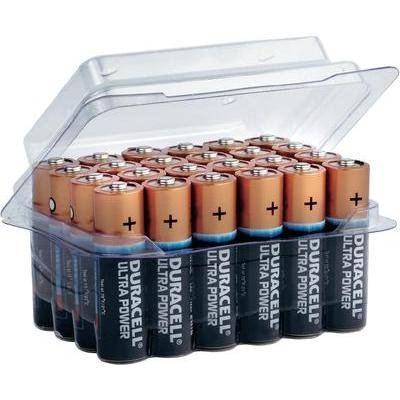 Duracell Ultra Power AA 4 Pack Alkaline 1,5 V Non-Rechargeable Battery – Non-Rechargeable Batteries (Alkaline, Cylindrical, 1.5 V, 4 pc (s), AA, Black)