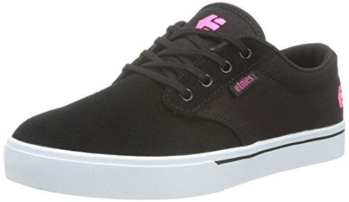 Etnies Jameson 2 W's - Zapatillas de skate Mujer, Negro - Schwarz (BLACK/WHITE/PINK / 888), EU 36