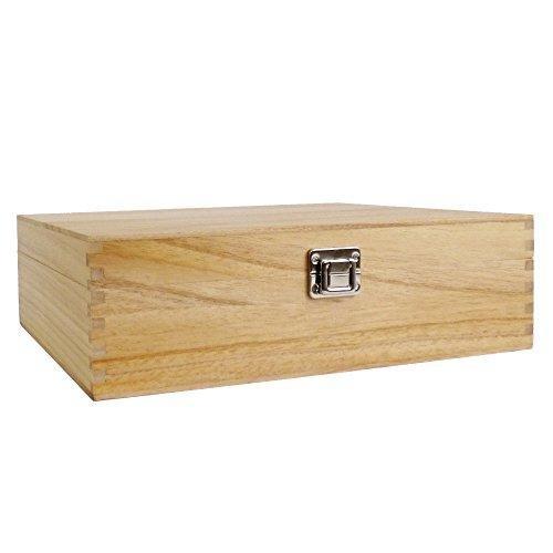 Holz Weinregal Carrier Aufbewahrungstasche Hält 3Flaschen fertig in ein Klarlack Geschenk (Carrier-aufbewahrungstasche)
