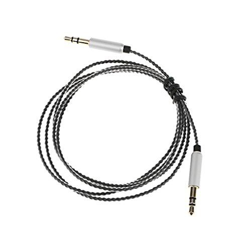 MagiDeal Casque pour Audio-Technica ATH-MSR7 SR5BT AR5 RE700 1.2m - Noir