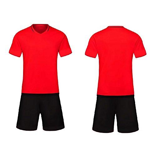 Jinbom Half Design - Personalisierte Benutzerdefinierte Trikots und Shorts mit 7 Farben Fußball Tragen (Custom-design-fußball-trikots)