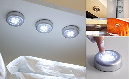 Litebud 6 luci led extra luminose con sensore di movimento pir