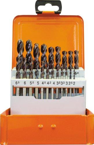 Projahn Eco 60846 Coffret de 21 forets HSS-Co ATN UF-L DIN1897 2-10,2 mm par 0,5 mm