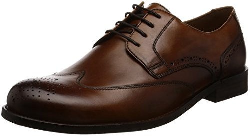 Ecco London, Brogues Homme Braun (1112AMBER)