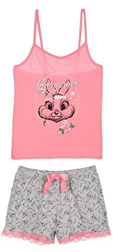 Bambi Damen Kurz Pyjama Schlafanzug