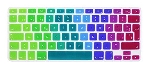 GSuMio Silicona Skin Española Cubierta teclado MacBook