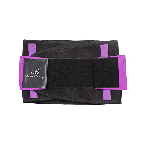 Lover-Beauty-Cintura da allenamento, da donna, vita Body Shaper Hourglass Shaper per cintura Purple