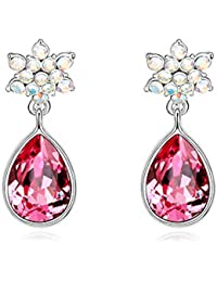 Hot And Bold Swarovski Crystals Earring For Women'S/Girls