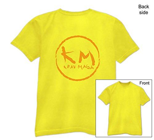 Geschenk für Krav Maga Sport Fans T-Shirt Gelb