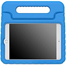 MoKo Funda para iPad Mini 4 - Material EVA Lightweight Kids Shock Proof Protector Cover Case con Manija Para Apple iPad Mini 4 7.9 Pulgadas 2015 Tableta, AZUL (No va a caber el mini 3)