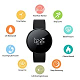 Feeleye Blood Pressure Watch Smart Bracelet Wristband UW1X 2017 New Design Fitness Tracker With Heart Rate Monitor For IPhone Android Sleep Monitor Calorie Counter Pedometer Watch