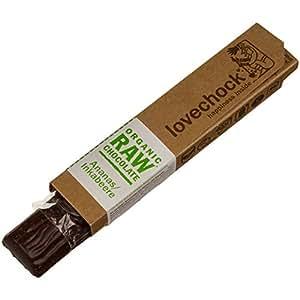 Lovechock - Barretta di cioccolato crudo biologico con ananas/alchechengi