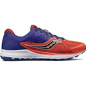 Saucony RIDE 10, Scarpe running uomo, Orange/Blue, 45 EU