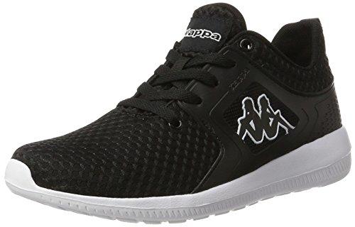 Kappa Colorado, Sneakers Basses Mixte Adulte Noir (1110 Black/white)