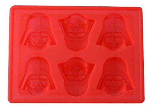 Star Wars GZ211 - Juego para cocinar Darth Vader, Star Wars (GZ211) - Bandeja Hielos Silicona Darth Vader
