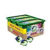 Ariel 3 en1 Pods - Detergente color  en cápsulas superconcentrado, Limpia y mantiene el brillo del...