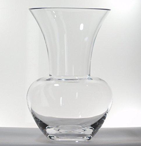 Ballerina Clear Glass Vase (D13.5cm x H20cm)