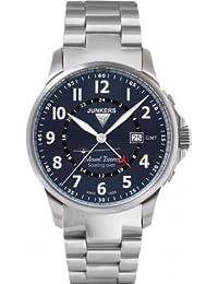 Junkers Herren-Armbanduhr Analog Quarz Edelstahl 6844M3