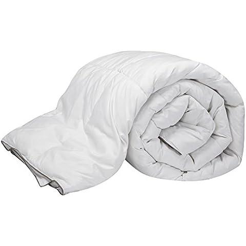 Pikolin Home Natural - Relleno nórdico de plumón de oca 96%, 100% algodón, 220 gr/m², 200 x 220 cm, cama 135