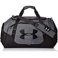 Under Armour UA Undeniable Duffle 3.0 MD Bolsa Deportiva, Unisex Adulto, Gris (040), 33 x 64 x 28 cm