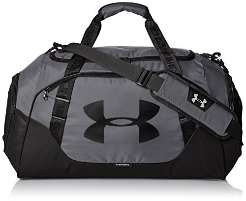 Under Armour Uni UA Undeniable Duffle 3.0 MD Sporttasche, Graphite,28 x 56 x 25 cm