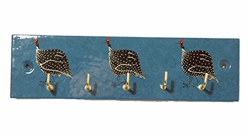 Guinea Fowl Schlüssel Haken-Set