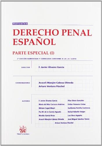 Derecho Penal Español Parte Especial I por Francisco Javier Álvarez García