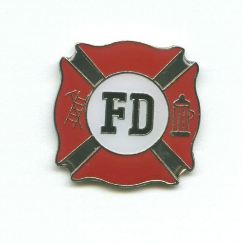 Fire Department FD Feuerwehr Luxus Pin Pins Metall Anstecker Button 511
