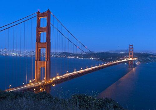 Preisvergleich Produktbild hansepuzzle 24338 Reisen - Golden Gate Bridge, 260 Teile in hochwertiger Kartonbox, Puzzle-Teile in wiederverschliessbarem Beutel