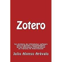 Zotero:: Los gestores de referencias: software para la gestión y mantenimiento de las referencias bibliográficas en trabajos de investigación