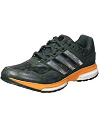 Adidas Zapatillas Response Boost Techfit M Rojo EU 43 1/3 (UK 9)
