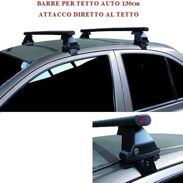 20042007 3 Porte Generico Kit Barre portatutto Compatibile con Audi A3 Alluminio 8P