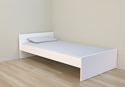 Best For Kids Simple Cuna 90 x 200 cm Color Blanco Incluye somier