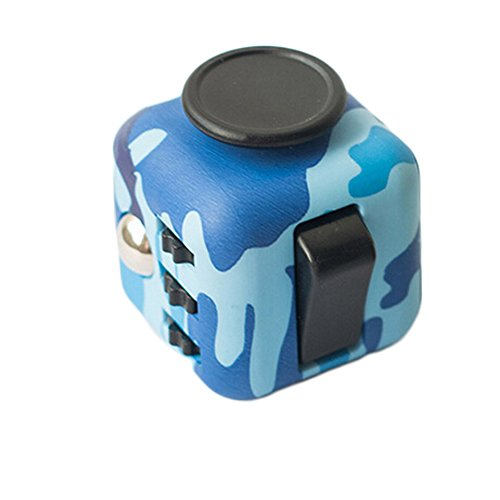 Wangyue NEW Camouflage Series of Fidget Toy Fidget Cube Stress Reducer Relieves Stress And Anxiety Toy