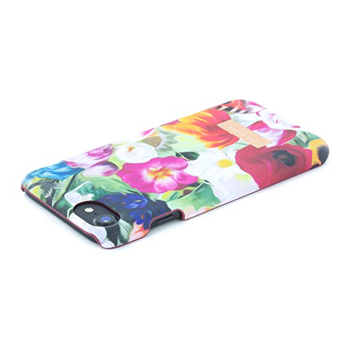 Official TED BAKER® SS16 iPhone 7 Case - Hard Shell Back Case / Cover in Flower Design for Women, Snap on Back Case for Apple iPhone 7 - Hanging Gardens floral swirl