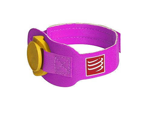 Compressport Timing Chipband rosa