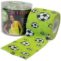 selbsthaftende, elastische Bandage / Fixierbinde / Fingerpflaster - 5cm x 4,5m (gedehnt), soccer preisvergleich bei billige-tabletten.eu