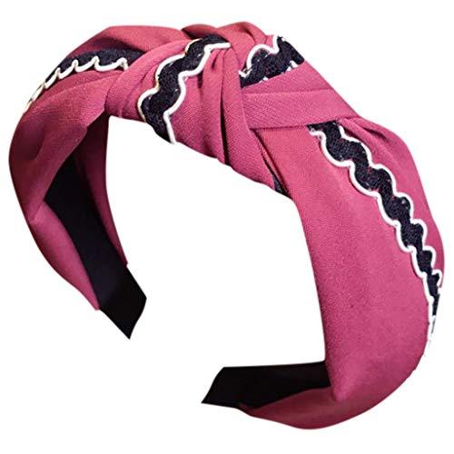 Headwrap VENMO Damen Stirnband Kopfband Stirnbänder Haarspange Kopftuch Haarband Headband Elastische Sportliche Headwear
