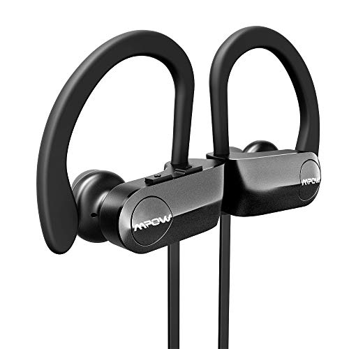 8d01fb06f1be51 MPOW D7 [Upgraded] Bluetooth Headphones, IPX7 Waterproof Real HD Sound  Wireless Sports Earbuds