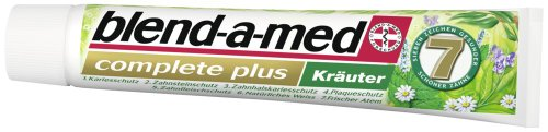 Blend-a-med Complete Plus Kräuter, 6er Pack (6 x 75 ml)