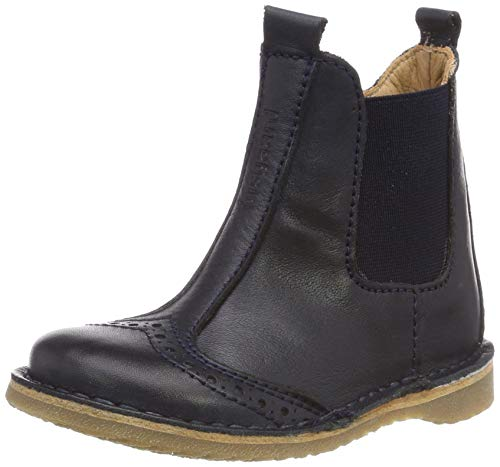 Bisgaard Unisex-Kinder 50238.119 Chelsea Boots, Blau (Navy 601), 34 EU