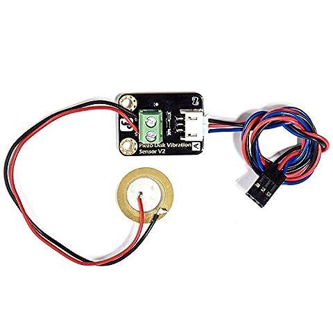 Capteurs de Cibration en Céramique Piézo-électriques Analogiques (Compatible Arduino)