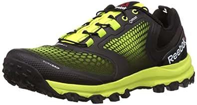 Reebok Men's All Terrain Extreme Gtx Black, Yellow And Grey Running Shoes - 11 UK
