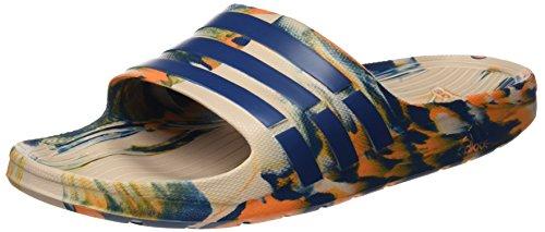 adidas, Unisex-Erwachsene Duramo Slide Zehentrenner, Mehrfarbig (Mararc / Acetec / Naruni), 48 2/3