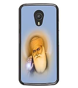 Guru Nanak 2D Hard Polycarbonate Designer Back Case Cover for Meizu M2 Note :: Meizu Blue Charm Note2