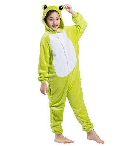 der Unisex Cosplay Jumpsuit Onesie Tier Frosch ()