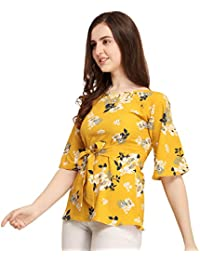d1c17b54151 Yellows Women s Tops  Buy Yellows Women s Tops online at best prices in  India - Amazon.in