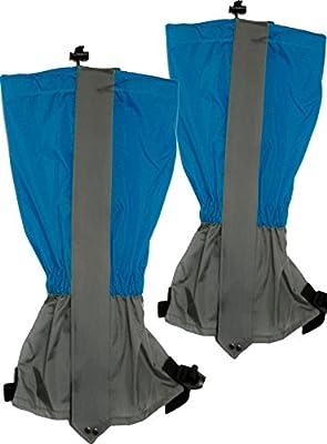 OUTDOOR SAXX® - Paar Gamaschen | Unigröße wasserdicht strapazierfähig | für Wandern, Ski, Gestrüpp Stiefel-Schutz wasser-abweisend | 2er Set, blau von OutdoorSaxx auf Outdoor Shop