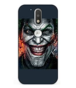 Happoz Motorola Moto G Plus ( 4th Generation ) Cases Back Cover Mobile Pouches Shell Hard Plastic Graphic Armour Premium Printed Designer Cartoon Girl 3D Funky Fancy Slim Graffiti Imported Cute Colurful Stylish Boys D161